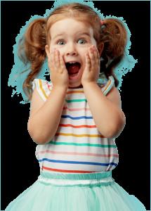 Surprised Female Toddler