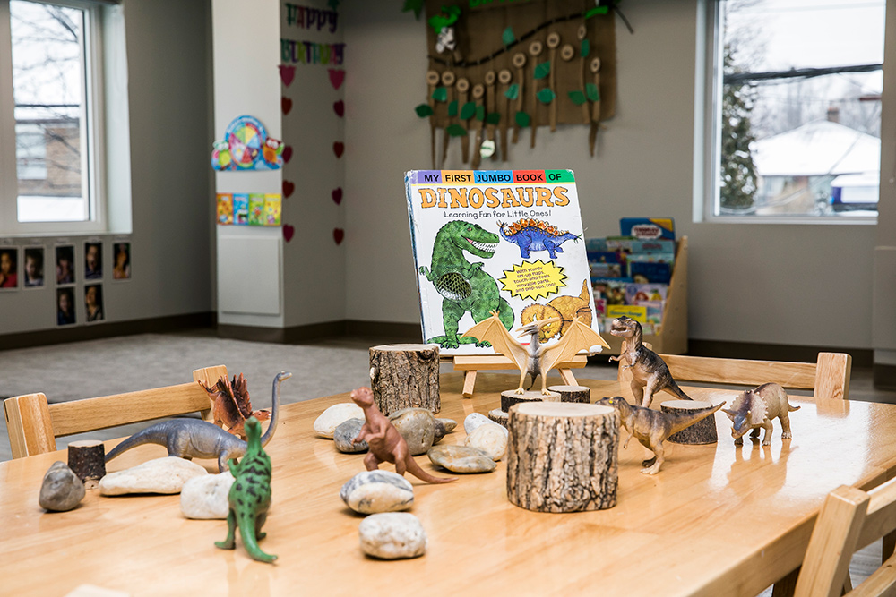 Preschool room table
